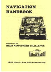 A BEGINNERS GUIDE TO  HISTORIC ROAD RALLY NAVIGATION