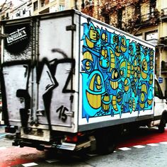 Camiopez de barcelona  @pezbarcelona  #pez  #stree2lab #dsb_graff #streetartworld #rsa_graffiti#tv_streetart #ig_barcelona #catalunyalliure #arteenlascalles #arteurbano #arteurbanobarcelona##dopeshotbro #arteenlascalles #artalcarrer #tv_streetlife #digerible#be_one_urbanart #total_urbanart by fau_art