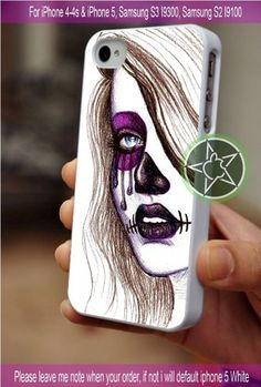 Day of The Dead Girl Art iPhone 4/4S/5, Samsung S4/S3/S2 cover cases | sedoyoseneng - Accessories on ArtFire