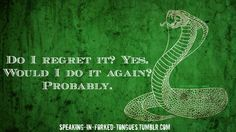 Slytherin quote