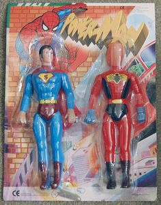 Tonight's pièce de résistance of ultimate awesomeness... Power-Man and Rotating Head Boy!