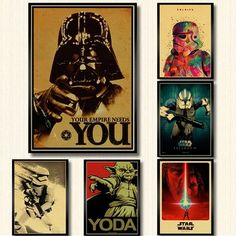 Aliexpress Rogues, 30, Vintage Posters, Star Wars, Wall Art, Movie Posters, Painting, Posters, Poster Vintage