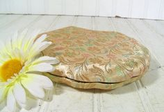 Shabby Chic Pastel Damask Jewelry Case  Vintage by DivineOrders, $17.00
