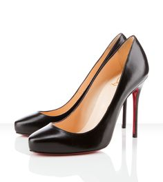 Christian Louboutin, Elisa! I just got these in black patent. They are Beautiful but they hurt so bad they make me want to cut my feet