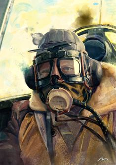 Battle of Britain Fighter Pilot Painting Ww2 Aircraft, Fighter Aircraft, Military Aircraft, Fighter Pilot, Fighter Jets, Airplane Art, Aviation Art, Aviation Fuel, Battle Of Britain