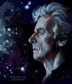 "heartoftardis: ""Space Doctor Who by ladunya """