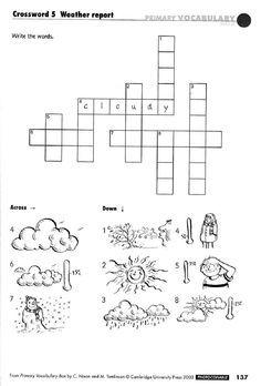Crossword ESL, EFL, Vocabulary Worksheets | Teaching Resources ...