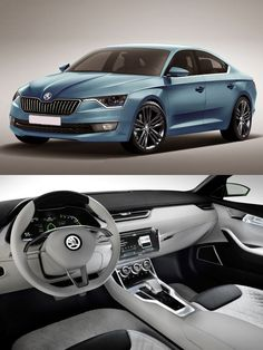 Skoda offers a bunch of engines for 2015 and there will be five petrol engines for the world market. However, the UK market will get three diesel engine options. Future Car, Diesel Engine, Toys For Boys, Big Boys, Concept Cars, Babys, Third, Interior, Design