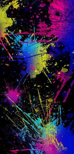 Wallpaper Iphone Neon, Phone Screen Wallpaper, Rainbow Wallpaper, Dark Wallpaper, Cute Wallpaper Backgrounds, Tumblr Wallpaper, Colorful Backgrounds, Fireworks Wallpaper, Japon Illustration