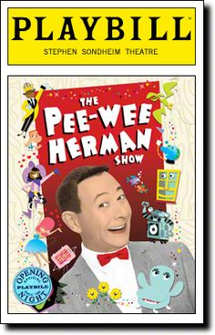 Outstanding Variety, Music Or Comedy Special: Pee-Wee Herman on Broadway. Because, WHY NOT?