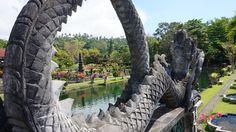 Schönste Orte Bali der Tirta Gangga Wasserpalast