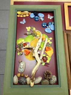 Working together to create art using organic materials - Opening of the Canadian Hawkins Exhibit and Messing About- shared by Laura Bailis www.pinterest.com... ≈≈