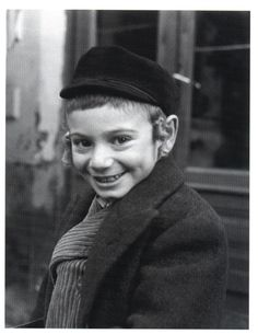 Young Jewish boy in Poland before the Holocaust, photo by Roman Vishniac