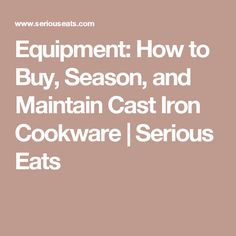 Carbon Steel - Advice, Tips, Recipes and more - Chowhound ...
