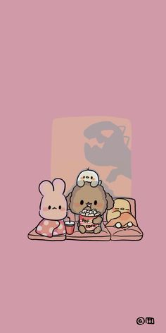 Cute Wallpaper Backgrounds, Wallpaper Iphone Cute, Wallpaper Quotes, Kawaii Wallpaper, Rilakkuma Wallpaper, Cute Doodles, Cute Cartoon Wallpapers, Cute Characters, Cute Illustration