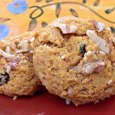 Whole Wheat Pumpkin Spice Breakfast Cookies