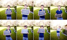 First day of preschool collage~absolutely want to do this w/ Luke Photography Journal, Photography Bags, Children Photography, 1st Day Of School, Pre School, School Days, School Stuff, Preschool Photo Ideas, Starting Kindergarten
