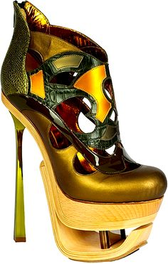 John Galliano Shoes.Amazing.........  Art, design or a shoe? You decide