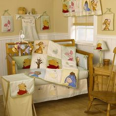 winnie the pooh themed nursery - Google Search