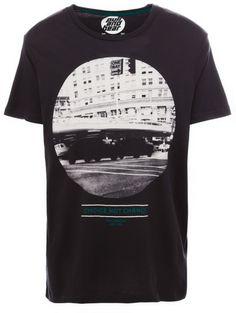 Pull&bear Gray Print Tshirt