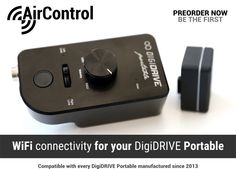 #AirControl The ultimate #WiFi connectivity for your #DigiDRIVE #Portable. Preorder now!