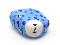 Peso de Papel - Gatinho Azul - R$15
