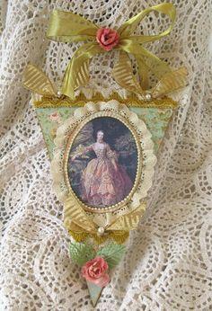 Martica Designs: Marie Antoinette Door Hanger