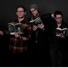 Of course in real life they are all studious intellectuals.