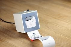 Little Printer serves up a personalized receipt-sized newspaper