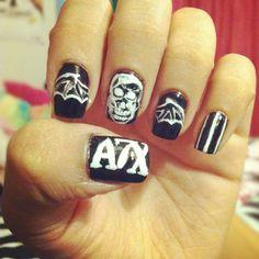 avenged sevenfold nails, OMFG, SPEACHLESS!!!!!!!!!