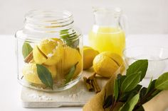 Preserved lemons are easy to make and are delicious served with Moroccan and Middle-Eastern dishes.