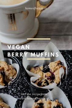 Vegane Beeren Muffins