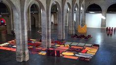 """Franz Erhard Walther """"Le Corps décide"""" au CAPC musée d'art contemporain de Bordeaux"""