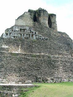 Xunantunich, Mayan archaeological site, Cayo district, western Belize