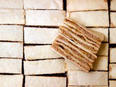 Walnut layered cookie bars
