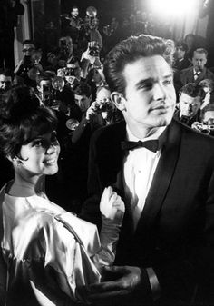 Natalie Wood and Warren Beatty - Cannes Film Festival - 1963