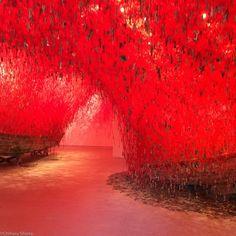 Chiharu Shiota à la Biennale de Venise, Pavillon Japonais