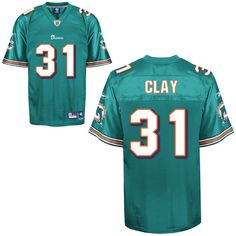 Dolphins #31 Charles Clay Green Stitched NFL Jerseys