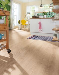 Baseboards, Types Of Wood, Laminate Flooring, Wood Grain, The Hamptons, Creme, Floors, Kitchens, Germany
