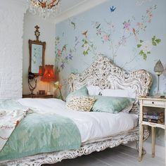 Fairytale bedroom | Take a tour around an eclectic Victorian terrace | housetohome.co.uk