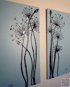 3. Wall Art - Get Your #Doodle on! 24 Sharpie #Crafts to Try Today ... → DIY #Whiskers
