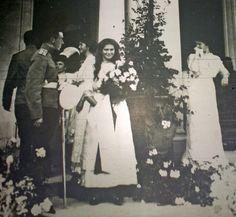Olga, Maria and Tatiana ~ Livadia, 1913
