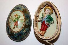 miniature doll in egg