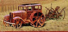Vintage Car Tractor