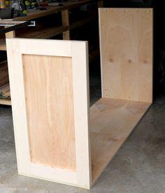 How to build a DIY dresser #freeplans #tutorial #dresser #diy