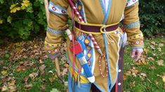 Modern reconstruction of Scythian costume and accouterments. The nations of the Danube