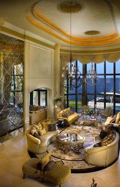 Luxury Home Interiors | @LuxurydotCom via Houzz