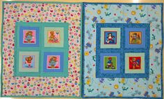 Babyquilts (2) for newborn intensive care unit