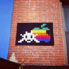 French Street Artist Space Invader Back At It In NYC After Arrest... We previously reported Invader's arrest installing one of his pieces in the Lower East Side. After his release, he is still in NYC posting his 8-bit invasions.