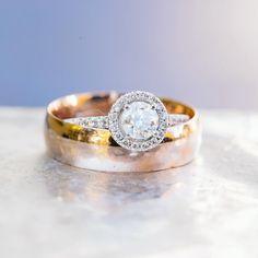The classic ring shot still gets me everytime. Still obsessed with @emmakgm_ 's halo ring #engaged #engagementring #isaidyes #wedding #weddingphotographer #diamondring #silkribbon #pearls #weddingsbands #macro #weddingdetails #weddinginspo #love #proposal  #junebugweddings #weddingbellsmag #tellon #halifax #halo #haloring